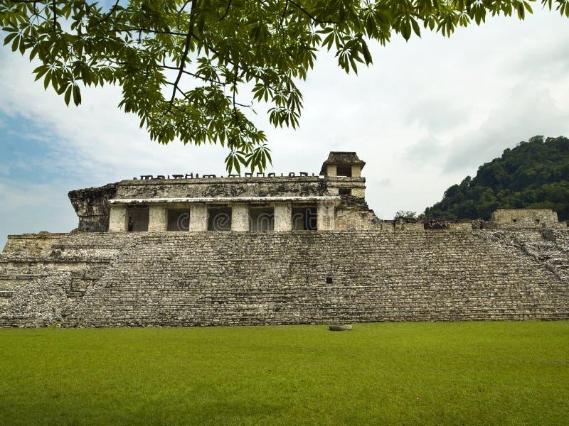 El Palacio Palenque. Chiapas Mexico royalty free stock photography
