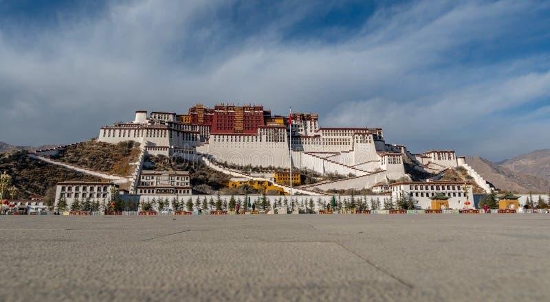 El palacio Potala hermoso imagenes de archivo