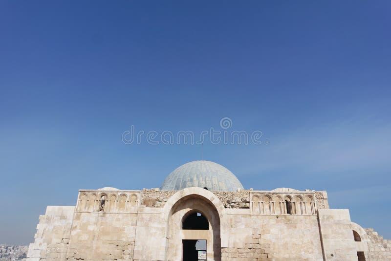 El palacio viejo de Umayyad fotos de archivo libres de regalías