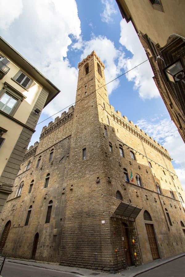El Palazzo del Bargello, Florencia, Italia foto de archivo libre de regalías