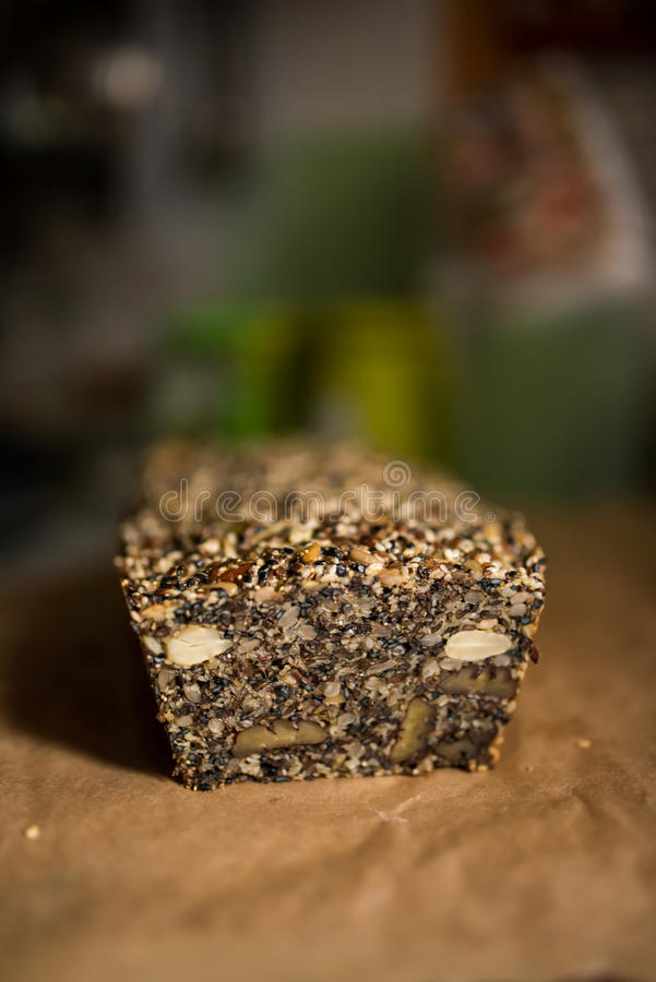 El pan de Paleo, gluten libera foto de archivo