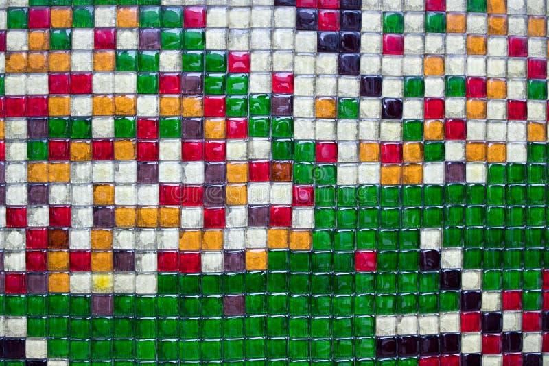 El panel colorido de los bloques de cristal fotos de archivo libres de regalías