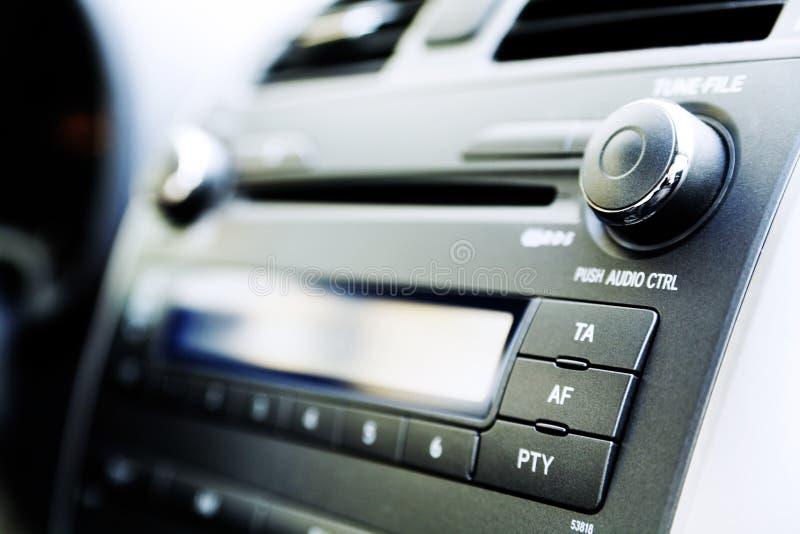 El panel del coche foto de archivo libre de regalías
