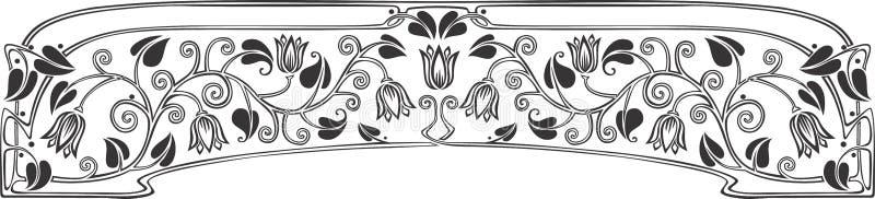 El panel 2 del tulipán fotografía de archivo