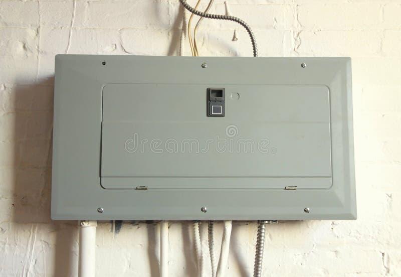 El panel eléctrico imagen de archivo libre de regalías