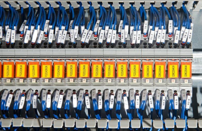 El panel eléctrico foto de archivo libre de regalías