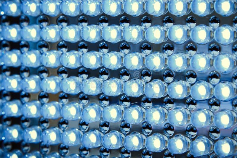 El panel llevado en luz fluorescente imagenes de archivo