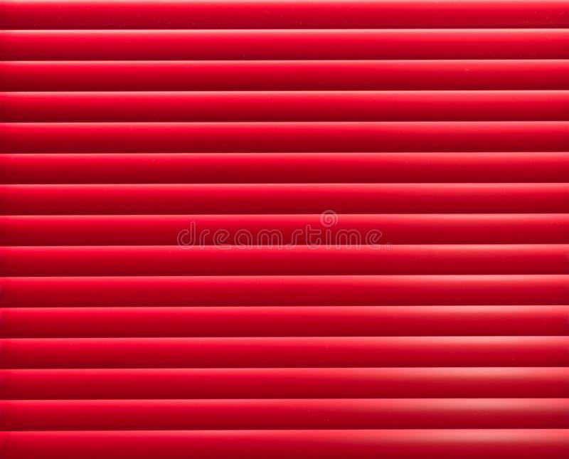 El panel rojo de la anteojera imagen de archivo