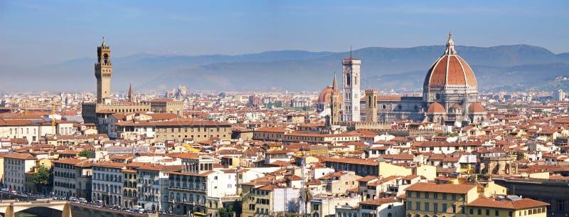 El panorama de Florencia imágenes de archivo libres de regalías