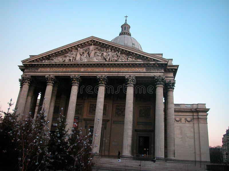 El panteón en París imagen de archivo libre de regalías