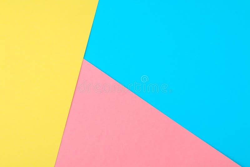 El papel abstracto es el fondo colorido, diseño creativo para el papel pintado en colores pastel foto de archivo