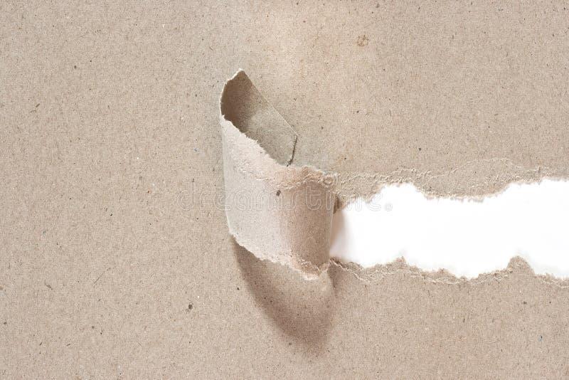 Download El Papel Reciclado Fue Rasgado Una Tira Foto de archivo - Imagen de viejo, recicle: 41906336