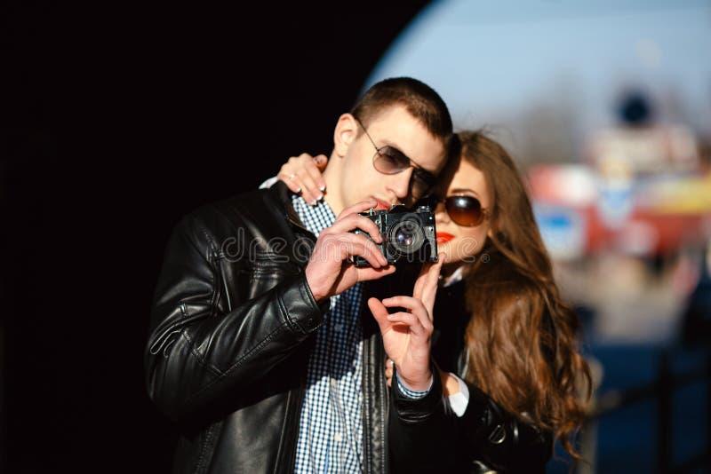 El par hace la foto fotografía de archivo libre de regalías