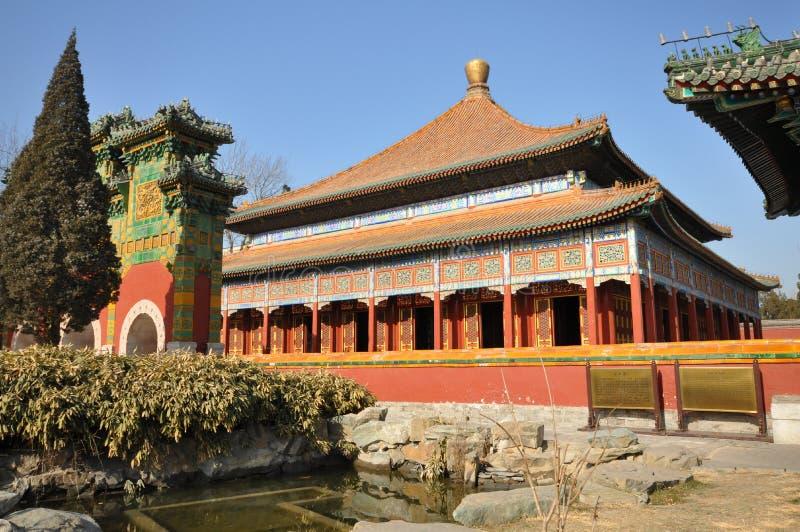 El paraíso en el jardín imperial de Beihai imagenes de archivo