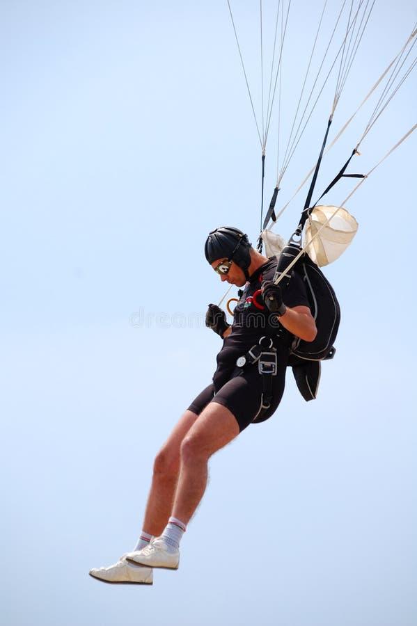 El paracaidista imágenes de archivo libres de regalías