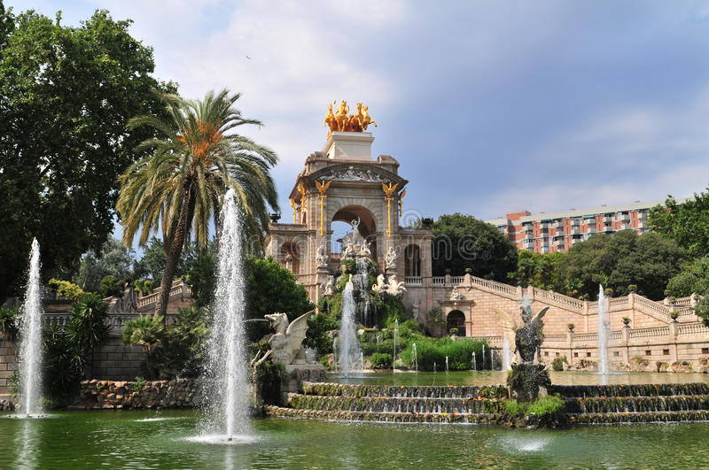 El Parc De La Ciutadella Royalty Free Stock Photos