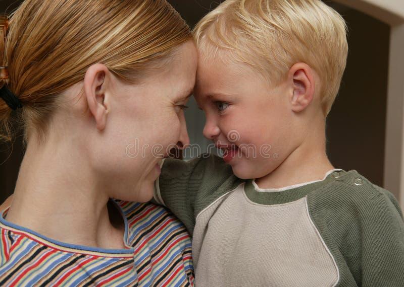 El Parenting: Mostrar Amor Fotos de archivo