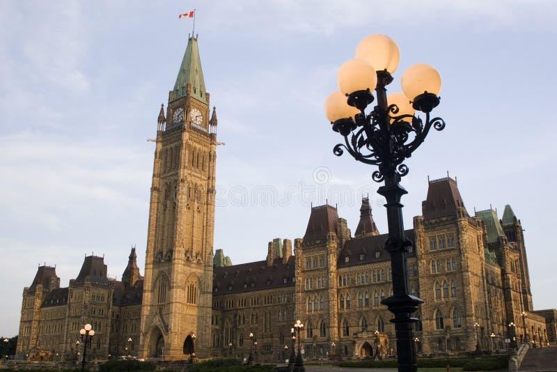 El parlamento canadiense imágenes de archivo libres de regalías