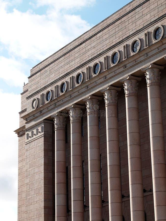 El parlamento de Finlandia foto de archivo