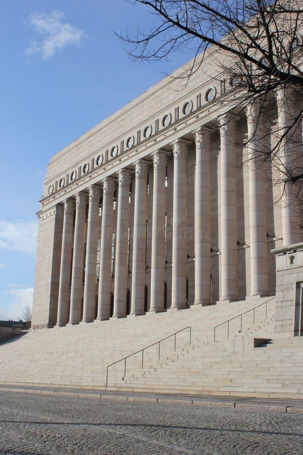 El parlamento de Finlandia imágenes de archivo libres de regalías