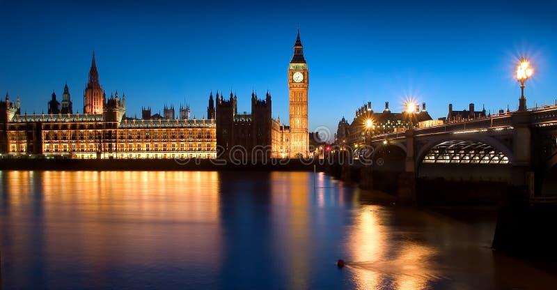 El parlamento de Inglaterra foto de archivo libre de regalías