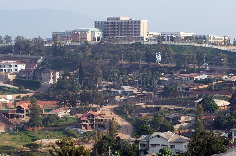 El parlamento de Rwanda imagen de archivo