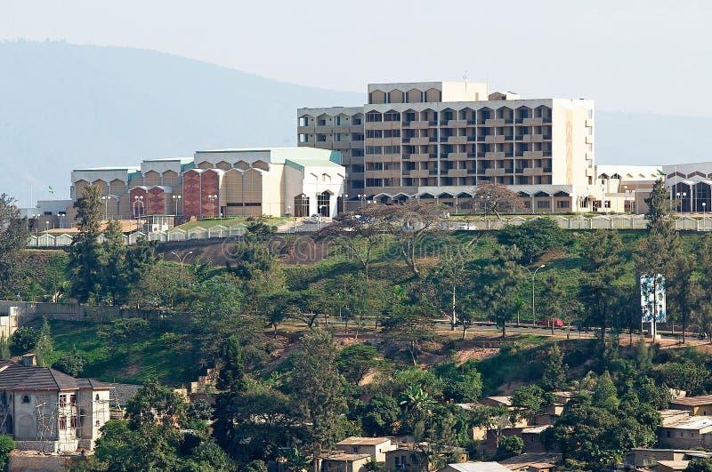 El parlamento de Rwanda fotos de archivo libres de regalías