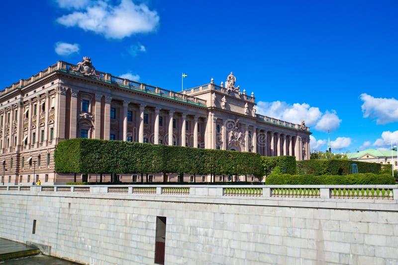 El parlamento de Suecia fotos de archivo
