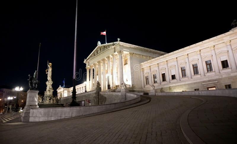 El parlamento en Viena fotos de archivo libres de regalías