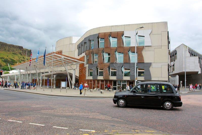 El parlamento escocés fotos de archivo