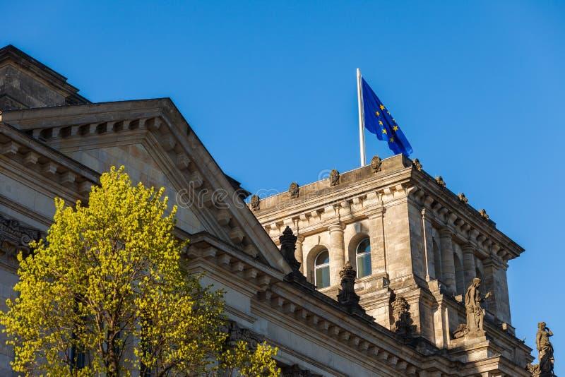 El parlamento federal alemán (Reichstag) fotografía de archivo