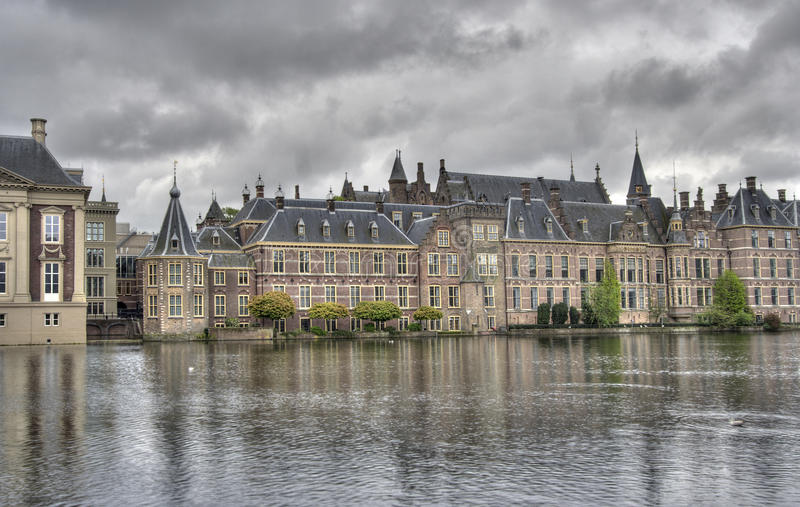 El parlamento holandés Binnenhof foto de archivo