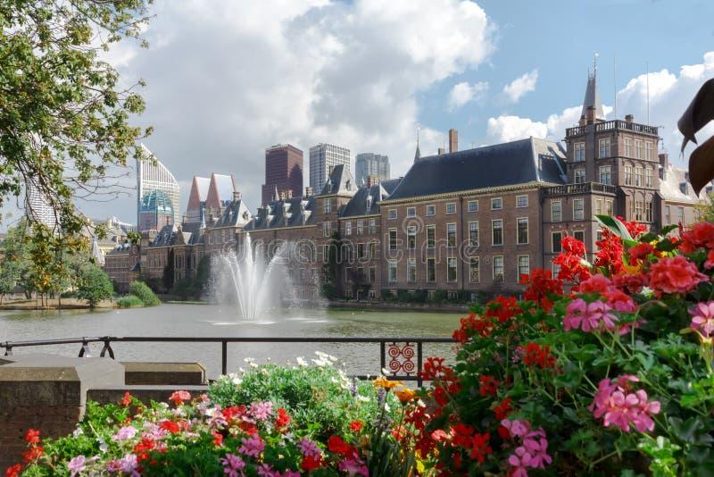 El parlamento holandés, La Haya, Países Bajos fotos de archivo libres de regalías