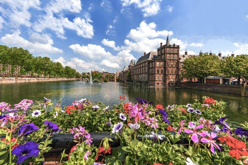 El parlamento holandés, La Haya, Países Bajos foto de archivo libre de regalías