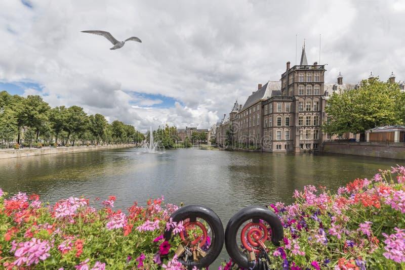 El parlamento holandés, La Haya, Países Bajos imagen de archivo