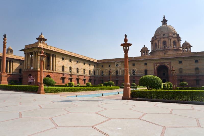 El parlamento indio imagen de archivo libre de regalías
