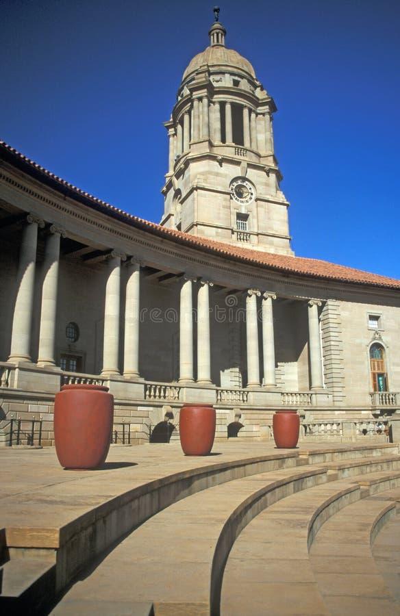 El parlamento surafricano fotos de archivo