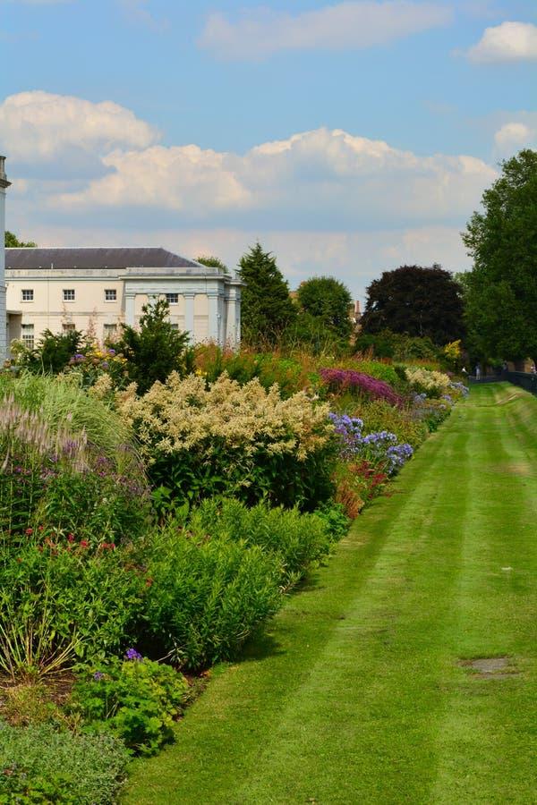 El parque de Greenwich florece en el verano, Londres, Engand fotos de archivo libres de regalías