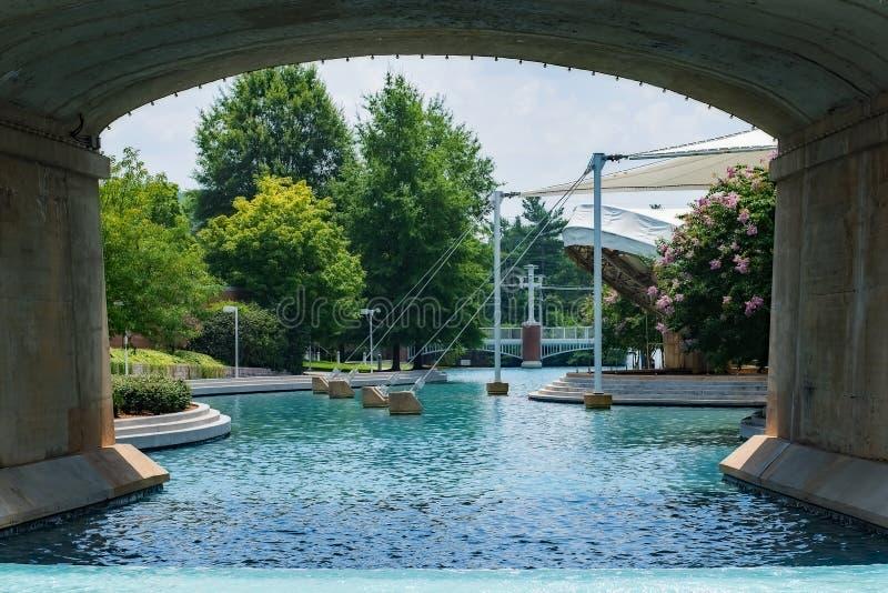 El parque justo de mundo en Knoxville imágenes de archivo libres de regalías