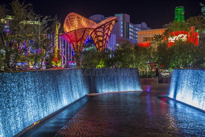 El parque Las Vegas fotos de archivo libres de regalías