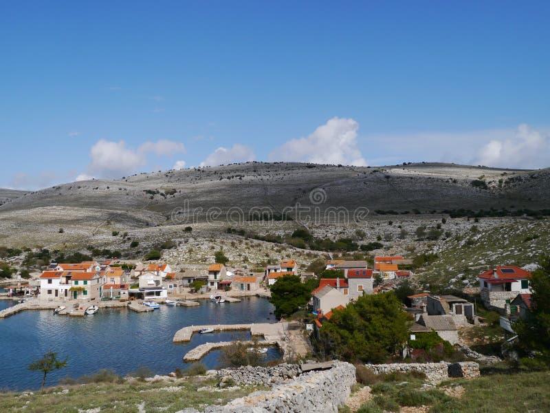 El parque nacional de Kornati imagen de archivo libre de regalías