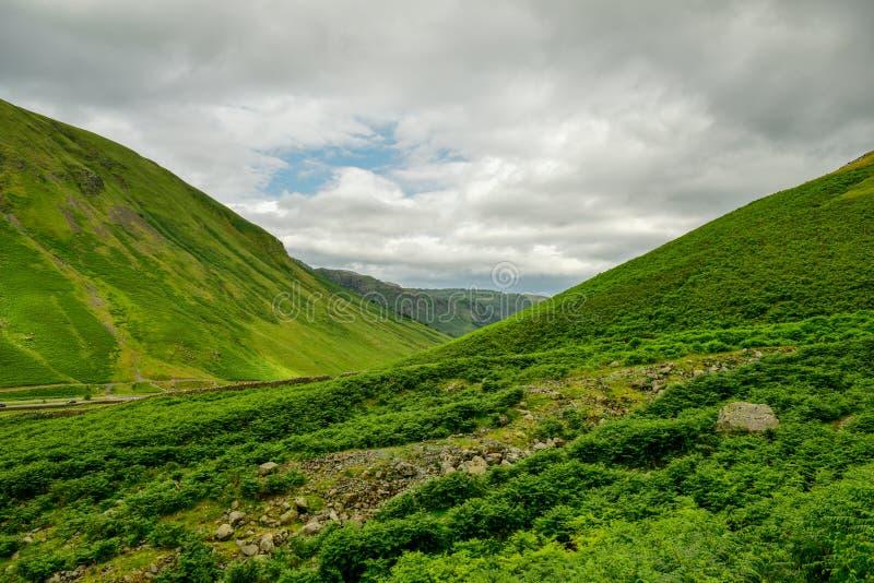 El parque nacional del distrito del lago imagenes de archivo