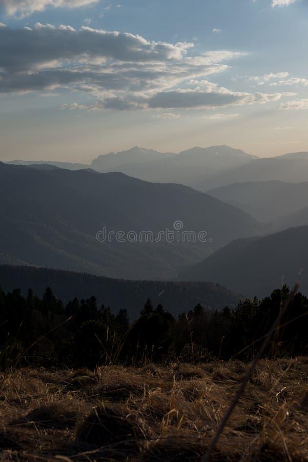 El parque natural grande de Thach de la montaña foto de archivo