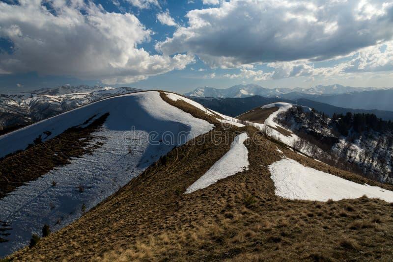 El parque natural grande de Thach de la montaña fotografía de archivo libre de regalías