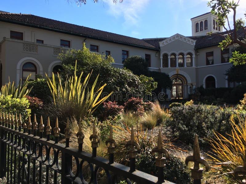 El parque oficial más pequeño del ` s de San Francisco, nombrado para su primer activista de las derechas civiles, 5 imágenes de archivo libres de regalías