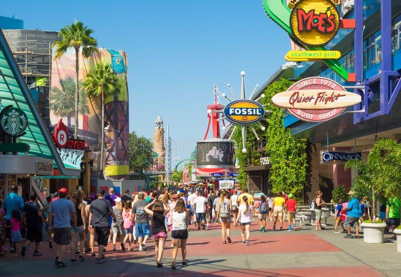 El parque temático universal de Orlando Resort fotos de archivo libres de regalías