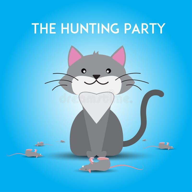 El partido de la caza libre illustration