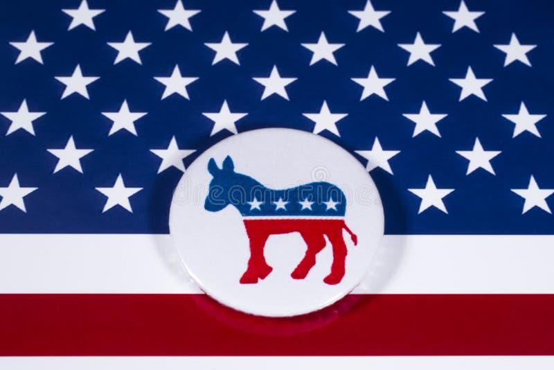 El partido de los E.E.U.U. Demócrata fotos de archivo libres de regalías