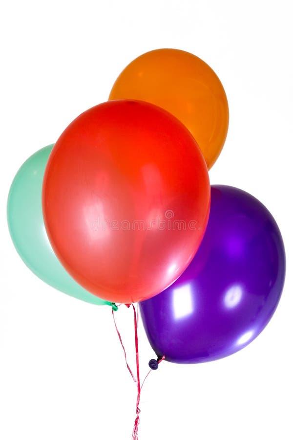 El partido del feliz cumpleaños hincha la decoración imagen de archivo libre de regalías