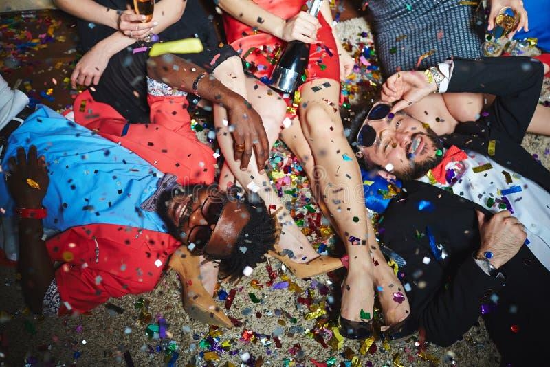 El partido se relaja foto de archivo libre de regalías